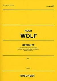 Wolf: Gedichte von Johann Wolfgang von Goethe Heft 1