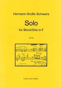 Große-Schware, H: Solo