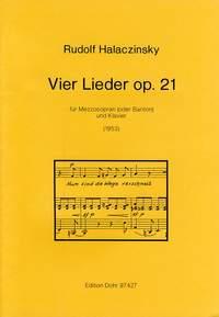 Halaczinsky, R: Four Songs op. 21