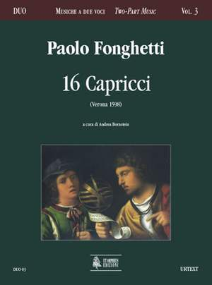 Fonghetti, P: 16 Capricci (Verona 1598)