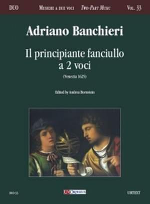 Banchieri, A: Il principiante fanciullo a due voci (Venezia 1625)