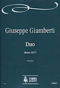Giamberti, G: Duo (Roma 1657)