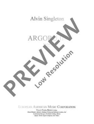 Singleton, A: Argoru III Product Image
