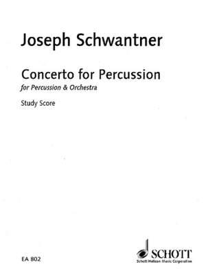 Schwantner, J: Percussion Concerto