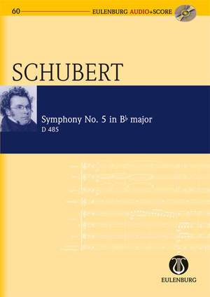 Schubert: Symphony No. 5 in Bb major D485 Product Image