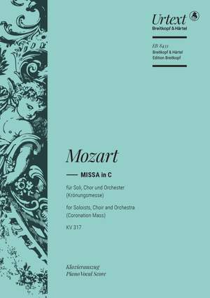 Mozart, W A: Missa in C major K. 317  KV 317 Product Image