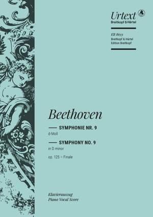 Beethoven, L v: Symphony No. 9 in D minor Op. 125 op. 125