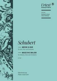 Schubert: Mass in G Major (D 167)