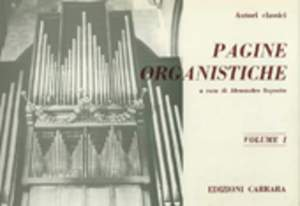 Pagine Organistiche Band 1 Product Image