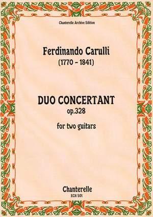 Carulli, F: Duo Concertant op. 328