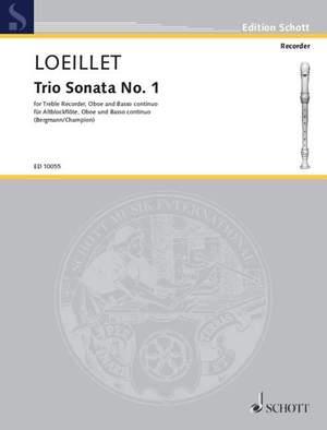 Loeillet, J B (: Trio Sonata No. 1 F major op. 1/1