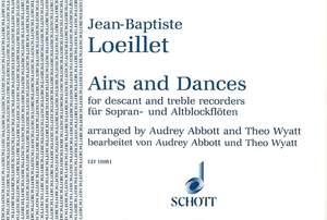 Loeillet, J B (: Airs and Dances