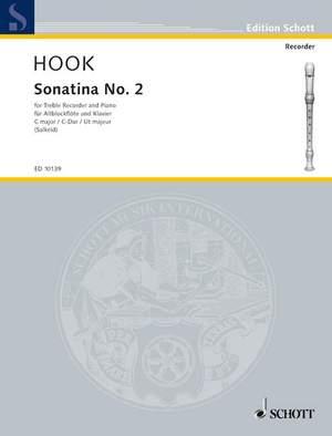 Hook, J: Sonatina No. 2 C major Product Image