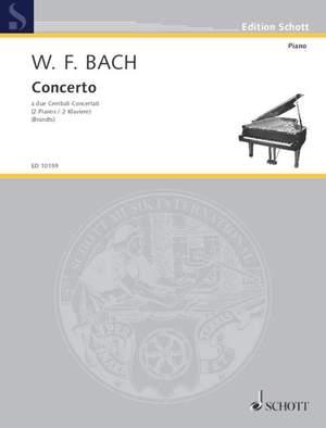 Bach, W F: Concerto F 10