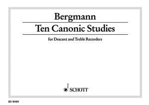 Bergmann, W: Ten Canonic Studies