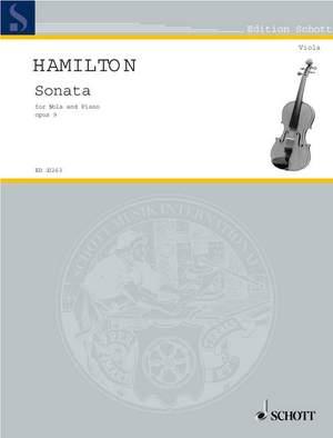 Hamilton, I: Sonata op. 9