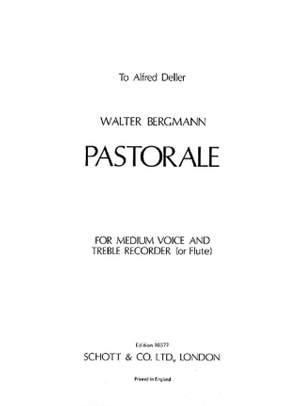 Bergmann, W: Pastorale