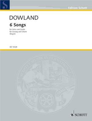 Dowland, J: 6 Songs