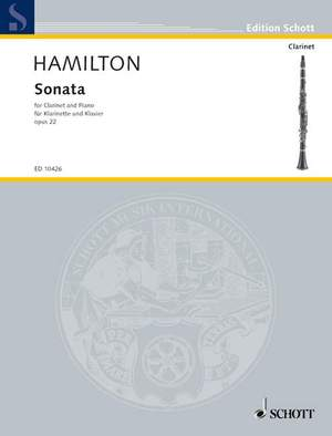 Hamilton, I: Sonata op. 22