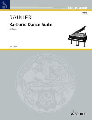 Rainier, P: Barbaric Dance Suite