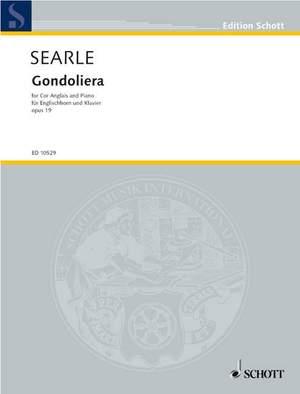 Searle, H: Gondoliera op. 19