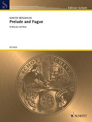 Bergmann, W: Prelude & Fuge
