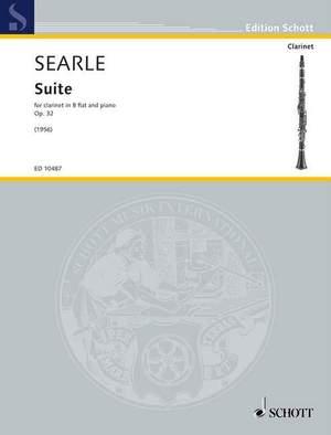 Searle, H: Suite op. 32