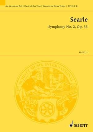 Searle, H: Symphony No. 2 op. 33