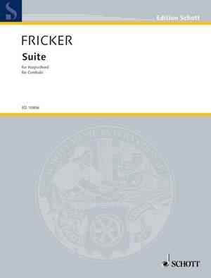 Fricker, P R: Suite
