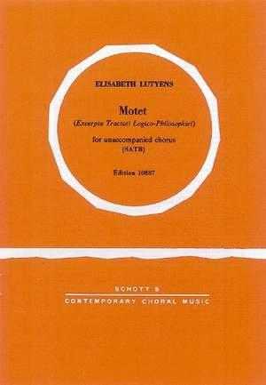Lutyens, E: Excerpta tractati logico Philosophici op. 27