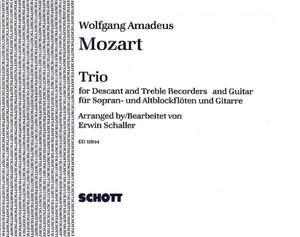 Mozart, W A: Trio