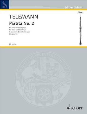 Telemann: Partita No. 2 in G TWV 41:G2