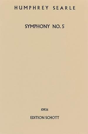 Searle, H: Symphony No. 5 op. 43