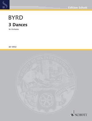 Byrd, W: 3 Dances