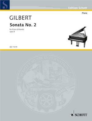 Gilbert, A: Sonata No. 2 op. 8