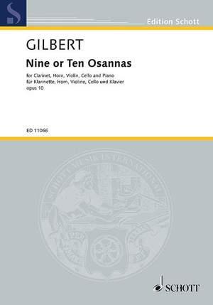Gilbert, A: Nine or Ten Osannas op. 10