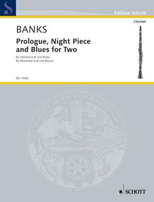 Banks, D: Prologue, Night Piece and Blues for Two