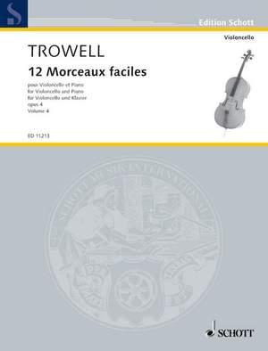 Trowell, A: 12 Morceaux faciles op. 4 Vol. 4