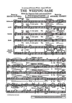 Tippett, M: The Weeping Babe