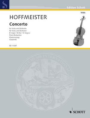 Hoffmeister, F A: Concerto B flat Major