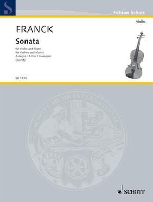 Franck, C: Sonata A Major