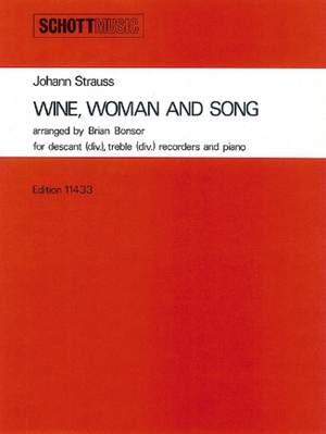 Johann Strauss II: Wein, Weib und Gesang op. 333