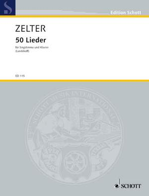 Zelter, C F: 50 Songs Product Image