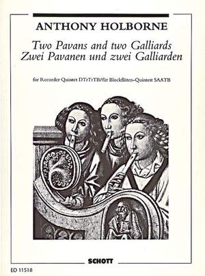 Holborne, A: Two Pavans and two Galliards