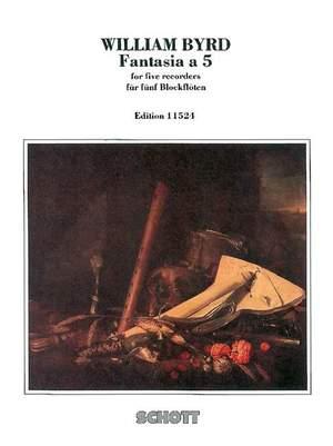 Byrd, W: Fantasia a 5