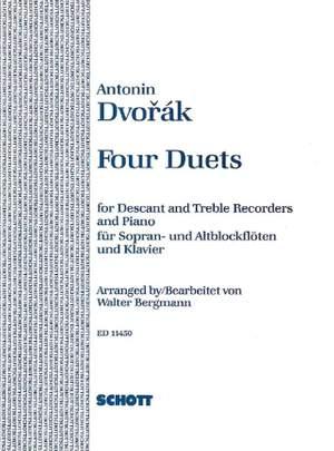 Dvorák, A: Four Duets op. 38