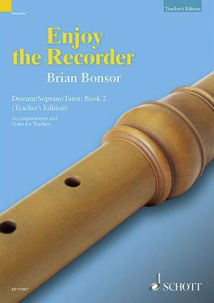 Bonsor, B: Enjoy the Recorder Vol. 2a
