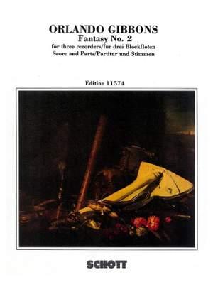 Gibbons, O: Fantasia No. 2