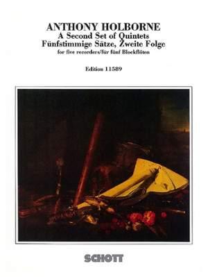 Holborne, A: A Second Set of Quintets Vol. 2