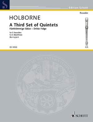 Holborne, A: A Third Set of Quintets Vol. 3